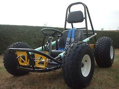 Go Kart Plan Gemini Karts CD Photo Shows Finished Kart