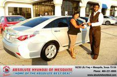 https://flic.kr/p/v1LhaE   Congratulations to Mettie Jones on your #Hyundai #Sonata Hybrid from Kevin Beasley at Absolute Hyundai! #NewCar   www.hyundaiofdallas.com/?utm_source=FlickR&utm_medium...