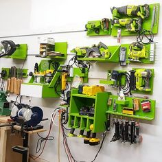 Here's my French cleat tool wall as it currently sits! I love the way this is turning out. It really helps me keep organized because I can see where each to goes! #wood #woodworking #workshop #garage #frenchcleat #toolwall #woodshop #woodworker #woodporn #toolorganization #tool #tools #organization #organized2016 #diy #diyworkshop #diyproject #love #loveit #gotwood #gotwoodworkshop