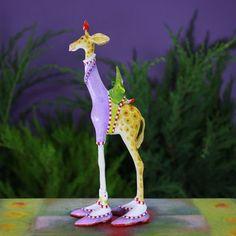 Patience Brewster George Giraffe Ornament