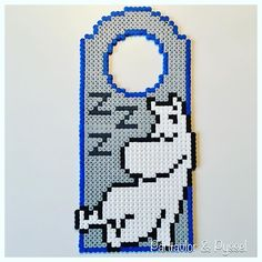 Bilderesultat for moomin knitting pattern Fuse Bead Patterns, Perler Patterns, Beading Patterns, Knitting Patterns, Fuse Beads, Perler Beads, Hama Beads Design, Bead Crafts, Pixel Art