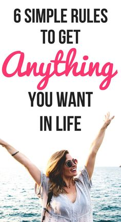 How To Get Anything You Want In Life: 6 Simple Rules. How to use the law of attr… Get What You Want, How To Get, Ways To Be Happier, Law Of Attraction Quotes, Simple Rules, Life Advice, Marriage Advice, Dating Advice, Self Development