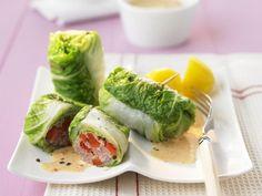 Chinakohlröllchen mit Hackfleisch und Paprika gefüllt ist ein Rezept mit frischen Zutaten aus der Kategorie Fleisch. Probieren Sie dieses und weitere Rezepte von EAT SMARTER!