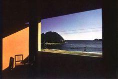 Hommage à Hopper - Puerto-Angel, Mexique, 1970 By Bernard Plossu