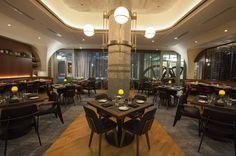 Behold the Finished Swift & Sons, Boka Group's Gargantuan Fulton Market Steakhouse - Eater Chicago