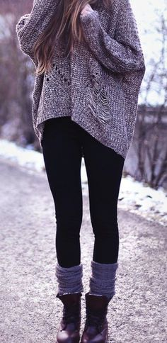 Cute comfy outfit for a quick outting with friends