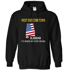 (Tshirt Discount) WEST END COBB TOWN Its Where My Story Begins at Tshirt Best Selling Hoodies, Funny Tee Shirts