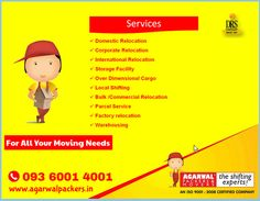 Get Free Multiple Moving Quotes from Agarwal Packers & Movers - DRS Group. For All Your Moving Needs. We make moving easy by connecting you with the best services. #LocalMovers #affordablerate #savemoney  Just click here: http://www.agarwalpackers.in/
