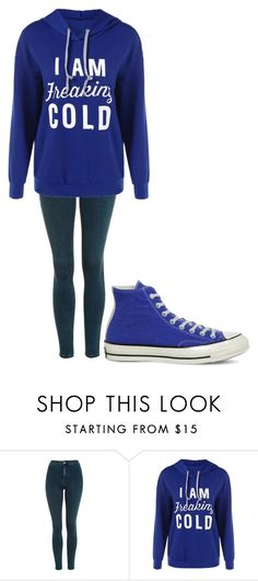 """Untitled #190"" by cruciangyul on Polyvore featuring Topshop and Converse"
