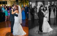 DJs Buddy and Carlos Cool C provided the music for Amanda and Jason's wedding. Check out their romantic first dance, courtesy of our friends at Palm Beach Photography. At the Pavilion Grille in Boca Raton.