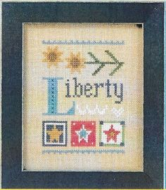 You Choose Lizzie Kate Cross Stitch Pattern Chart Only