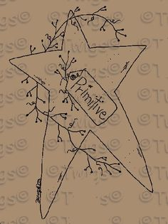 primtive christmas embroidery designs | Primitive Stitch Patterns « Browse Patterns