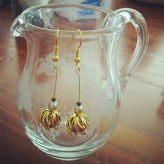 Dahlia earrings by julietfieldew