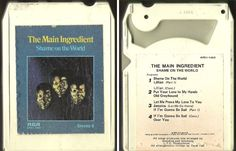 Main Ingredient, The / Shame On the World (1975) / RCA APS1-1003 (8-Track Tape), $3.25