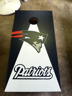 new england patriots cornhole boards - Google Search