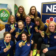 Congrats to @usrowing Women's Eight! It's their 3rd consecutive Olympic #Gold #Rio2016