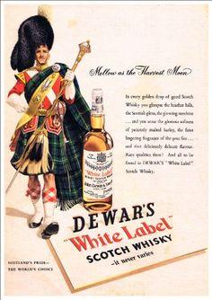 Fantastic A4 Glossy Print - 'Dewar's White Label Scotch W…
