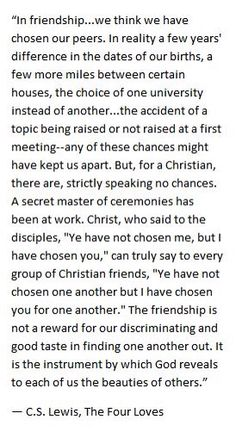 From friends to disciples. A friend is not by coincidence but ordained.
