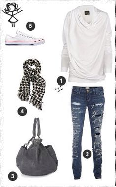 a simple but very nice outfit