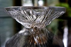 """Orrefors Crystal Votive """"Icy"""""""