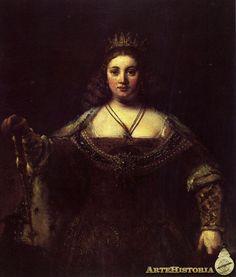 Rembrandt - Juno