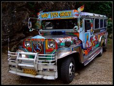 jeepney Philippines Culture, Philippines Travel, Olongapo, Jeepney, Custom Jeep, Jeep Truck, Us Navy, Tricycle, Public Transport