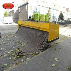 Shandong China Coal Rubber Paver Equipment Co. Specialized In Road Paver Machine Such As Rubber Paving Machine, Running Track Paver Machine, Sports Surface Paver Machine And Asphalt Paver Machi Brick Laying, Paving Stones, Sidewalk, Construction, Cap, Creative, Building, Baseball Hat, Side Walkway