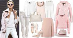 TrovaModa#white#pink#
