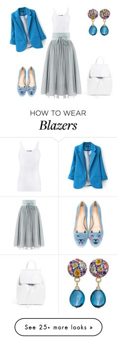 """""""Wednesday"""" by indiamonds on Polyvore featuring Vince, Charlotte Olympia and Mansur Gavriel"""
