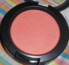 MAC Springsheen blush - I just love the way this looks on my cheeks. I don't need a highlighter when I wear it because it leaves a nice glowy finish!