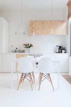 Een piepklein maar verrassend ruim appartementje in Antwerpen / www.woonblog.be
