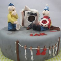 Pat and Mat Cake/ Buurman en buurman taart.