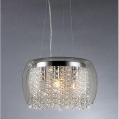 Found it at Wayfair - Nereids 4 Light Crystal Chandelier