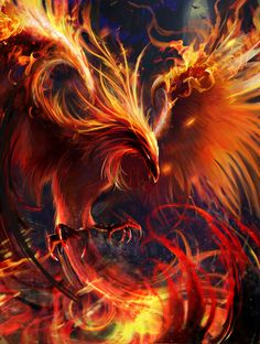 Pin by Saraloni Troupe on Mythical Creatures in 2020 Phoenix artwork Mythical creatures art Phoenix wallpaper