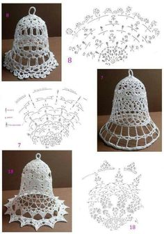 Discover thousands of images about Crochet Snowflake Pattern, Christmas Crochet Patterns, Crochet Snowflakes, Christmas Knitting, Crochet Chart, Thread Crochet, Crochet Motif, Crochet Lace, Crochet Christmas Decorations