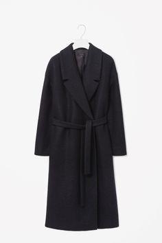 Wool mohair coat