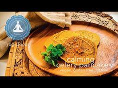 Yogicfoods.com is dedicated to vegan, vegetarian and a yoga inspired diet of yogic foods with yogic benefits Vegan Pancakes, Egg Free, Vegan Vegetarian, Celery, Hummus, Free Food, Sugar Free, Budget, Gluten Free