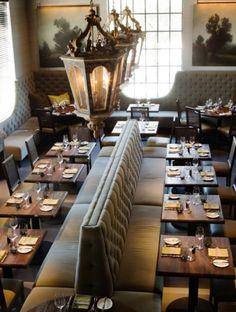 McAlpine Booth & Ferrier Interiors LaV - a Restaurant in Austin, TX - McAlpine Booth & Ferrier Interiors