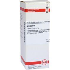 URTICA D 6 Dilution:   Packungsinhalt: 50 ml Dilution PZN: 04241120 Hersteller: DHU-Arzneimittel GmbH & Co. KG Preis: 10,19 EUR inkl. 19…