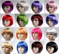Wholesale Cheap Short Bobo Synthetic Cosplay Wig