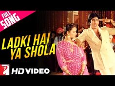 Ladki Hai Ya Shola - Full Song HD | Silsila | Amitabh | Rekha | Kishore Kumar | Lata Mangeshkar - YouTube Sanjeev Kumar, Shashi Kapoor, Yash Raj Films, Kishore Kumar, Lata Mangeshkar, Amitabh Bachchan, Past Life, Itunes, Morse Code