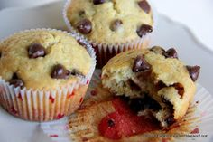 Adventures in all things food: Banana Chocolate Chip Muffins - Blogging It Forward with SRC