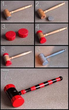 Harley Quinn Mini Hammer build by Joker-laugh on DeviantArt