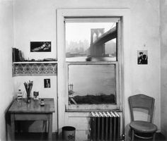 Rudy Burckhardt - a view from brooklyn