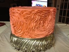 How to make a ruffle cake.  (Great recipes and tutorials here.)