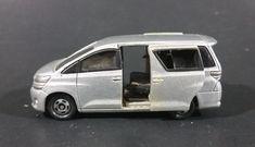 Tomica Tomy 2009 Toyota Vellfire Grey Mini Van 1/59 #49 Die Cast Toy Car Vehicle - Sliding Doors https://treasurevalleyantiques.com/products/tomica-tomy-2009-toyota-vellfire-grey-mini-van-1-59-49-die-cast-toy-car-vehicle-sliding-doors #Modern #Tomica #Tomy #2000s #Toyotas #Vellfire #Grey #Silver #MiniVan #Vans #PassengerVan #DieCast #Toys #Cars #Vehicles #Autos #Automobiles #Collectibles