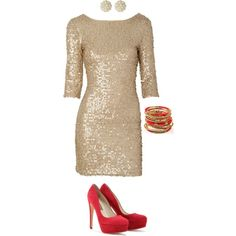 Holiday Cocktail Party outfit