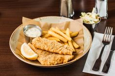 Fish&Chips - Our new lunch menu @ 29 Lei.