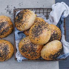 Bagel, Hamburger, Bread, Baking, Food, Brot, Bakken, Essen, Burgers