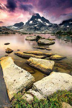 Thousand Island Lake at Sunset
